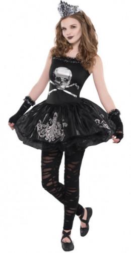 Costume ballerina delle tenebre adolescente Halloween