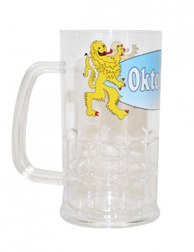 Bicchiere da birra trasparente Oktoberfest
