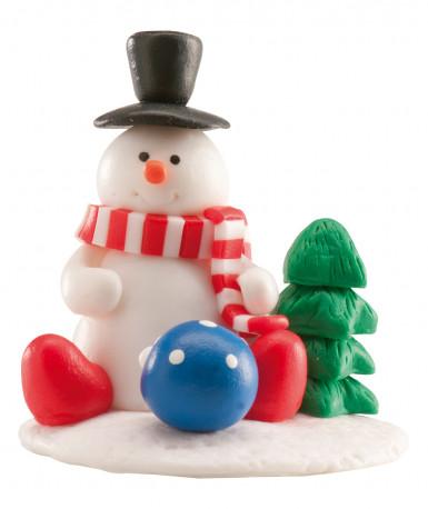Decorazione per dolci Omino di neve Natale