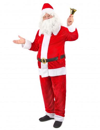Costume Babbo Natale deluxe uomo-1
