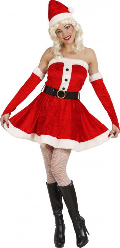 Costume Mamma Natale bustino donna