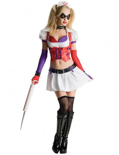 Costume Harley Quinn™ infermiera Arkham City™donna