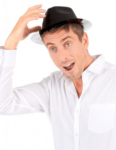 Cappello con paillettes nero-2