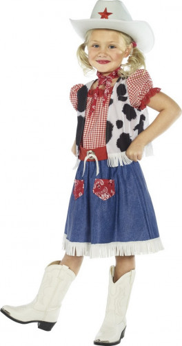 Costume cowboy country bambina