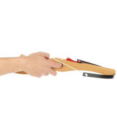 Balestra di legno con freccette-1