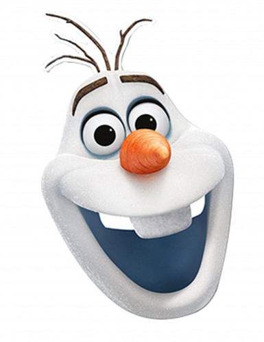 Maschera in cartone Olaf Frozen Il Regno di Ghiaccio™