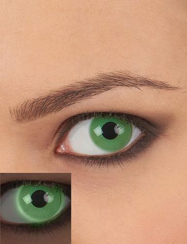 Lenti a contatto verdi UV