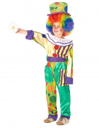 Costume coppia di clown padre e figlio-1