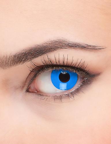 Lenti a contatto occhi blu