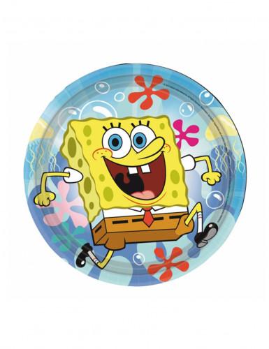 8 Piattini di carta SpongeBob™