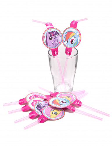 8 Cannucce con i personaggi dei My Little Pony™-1