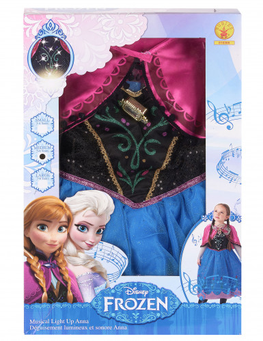 Costume sonoro deluxe da Anna Frozen™ per bambina-2