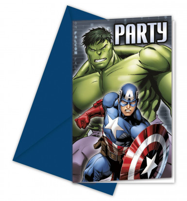 Carte d'invito Avengers™