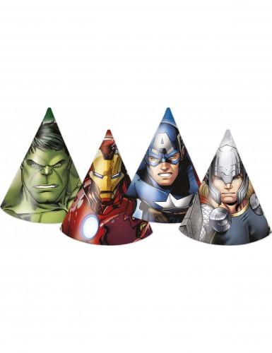 6 Cappellini da festa Avengers™