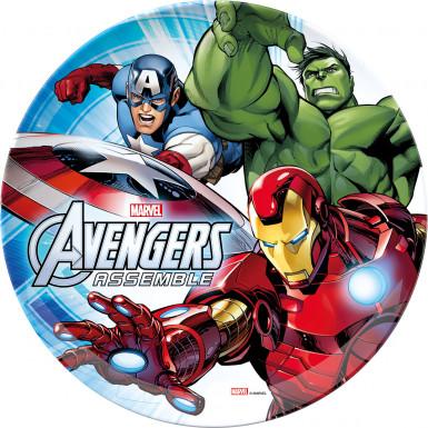 Piatto in melammina Avengers™