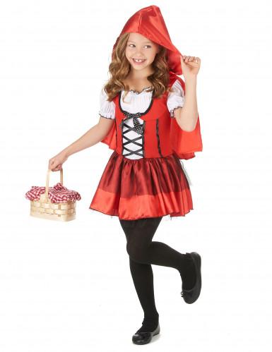 Costume abitino da cappuccetto rosso bambina-1