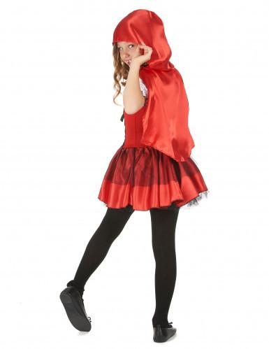 Costume abitino da cappuccetto rosso bambina-2