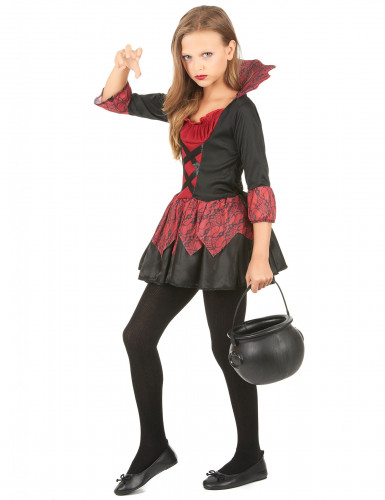Costume miniabito da vampiro bambina-1