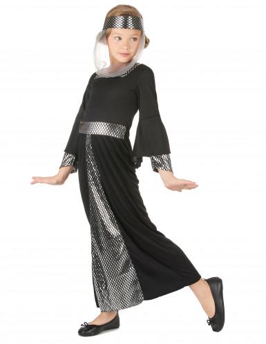 Costume dama medievale bambina-1