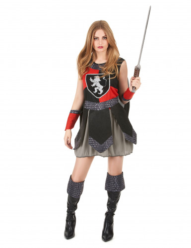 Costume cavaliere medievale donna