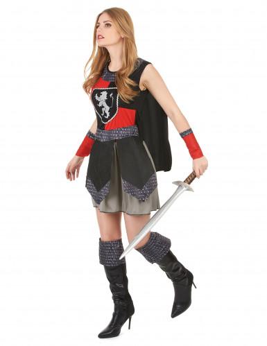 Costume cavaliere medievale donna-1
