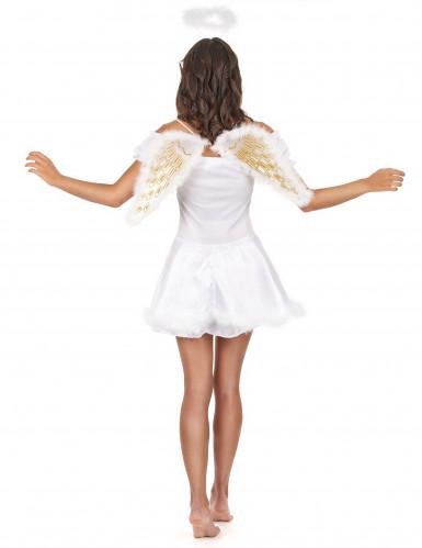 Costume da angelo con aureola per donna-2