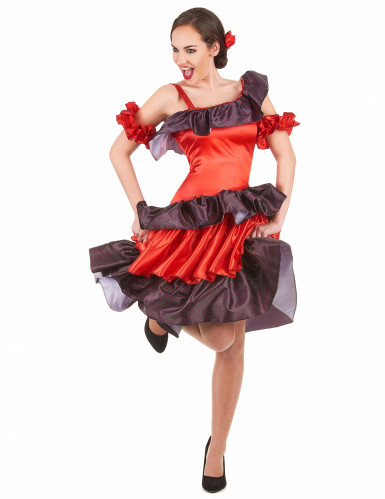 Costume ballerina di flamenco adulto