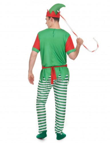 Costume elfo uomo Natale-2