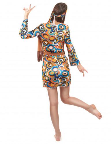 Costume Hippie con frange per donna-2