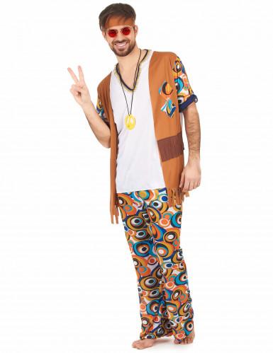 Costume hippie psicadelico per uomo-1