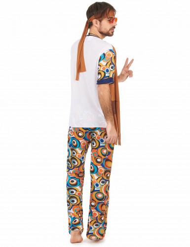 Costume hippie psicadelico per uomo-2