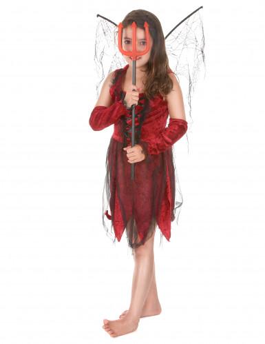 Costume fatina malefica bambina Halloween-1