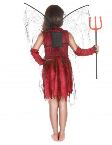 Costume fatina malefica bambina Halloween-2
