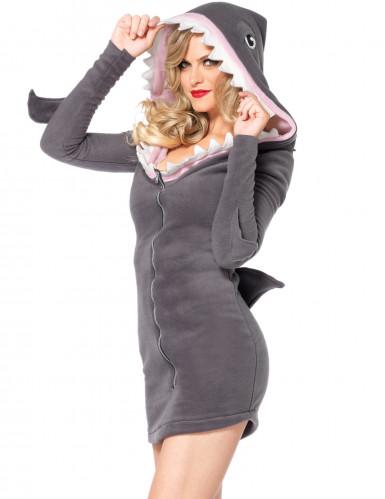 Costume da squalo per donna-1