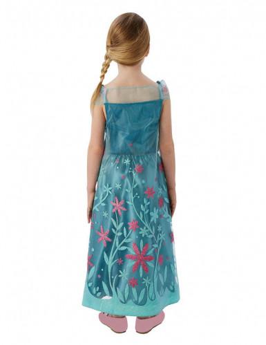 Costume Elsa Frozen™ Regina del ghiaccio per bambina-1