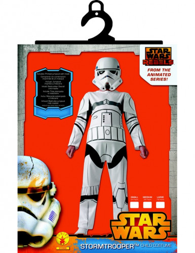 Costume Stormtrooper Star Wars Rebels™ bambino-1
