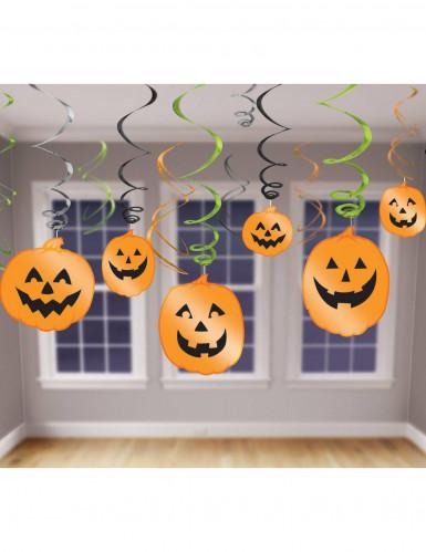 12 decorazioni da appendere zucche halloween addobbi e for Decorazioni da appendere