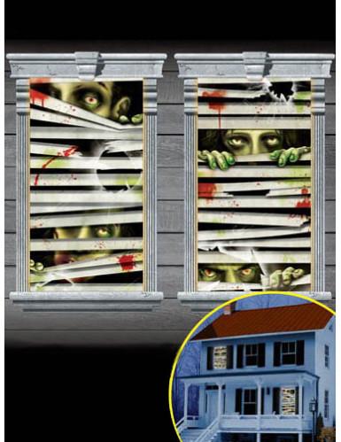 decorazioni per finestre Zombie: Addobbi,e vestiti di carnevale ...