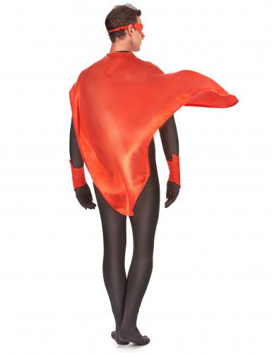 Kit supereroe rosso adulto-2