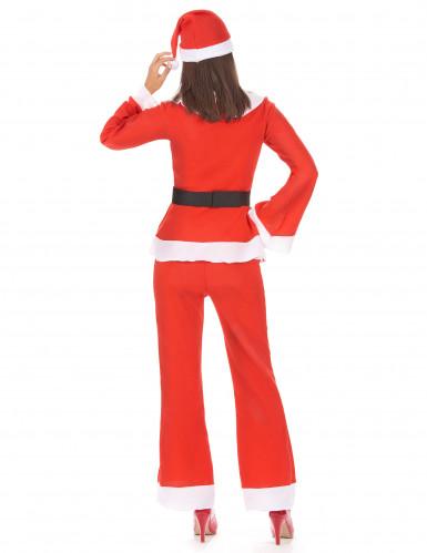 Travestimento completo Mamma Natale con pantaloni-2