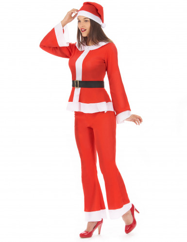 Travestimento completo Mamma Natale con pantaloni-1