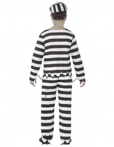 Costume zombie prigioniero bambino Halloween-1