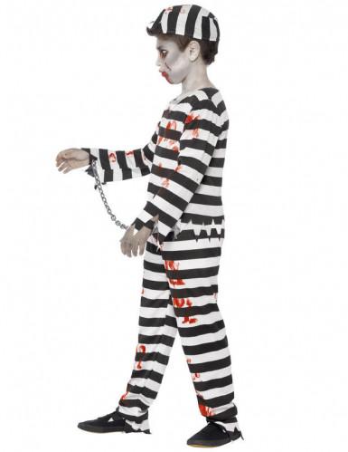 Costume zombie prigioniero bambino Halloween-2