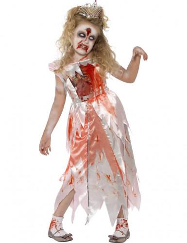 Costume principessa zombie bambina
