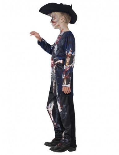 Costume da zombie pirata bambino-2