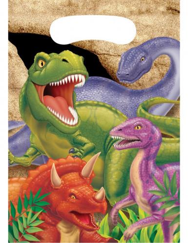 8 Buste regalo di compleanno dinosauri
