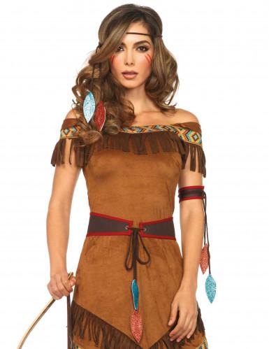 Costume da indiana d'america per donna-1