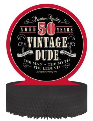 Centro tavola Compleanno Vintage: 50 anni