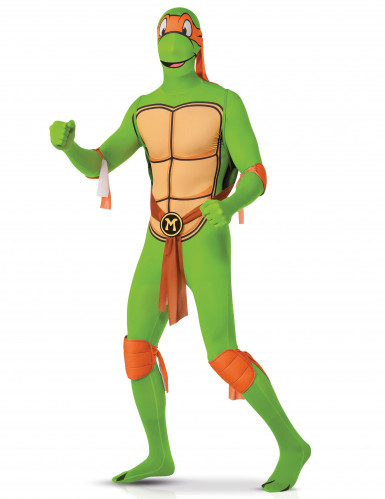 Costume seconda pelle Michelangelo Tartarughe Ninja™ adulto