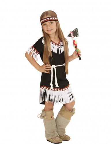 Costume indianina d'America bambina